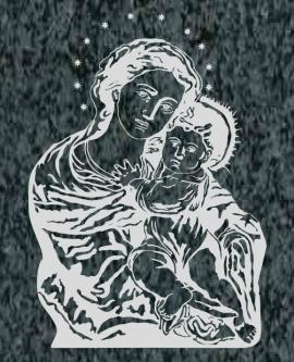 Virgen Nº 9 - VIRGEN DE GRACIA
