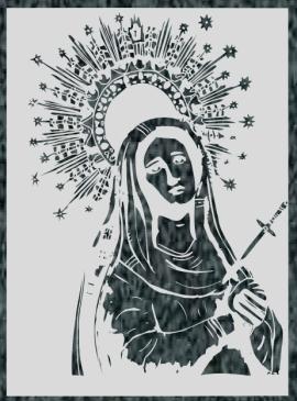 Virgen Nº 41 - VIRGEN DE LOS DOLORES 2