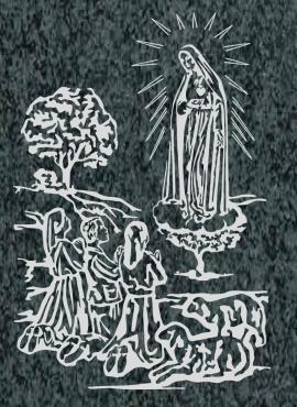 Virgen Nº 36 - VIRGEN DE FÁTIMA