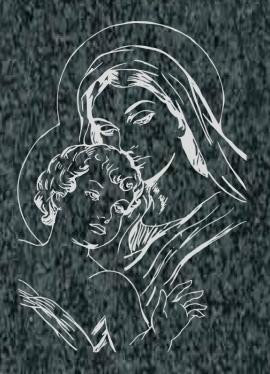 Virgen Nº 14 - REF: 326