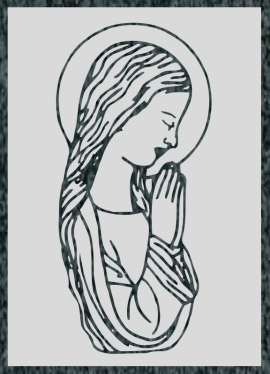 Virgen Nº 13 - REF: 311