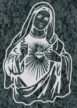 Virgen Nº 2 - REF: 458
