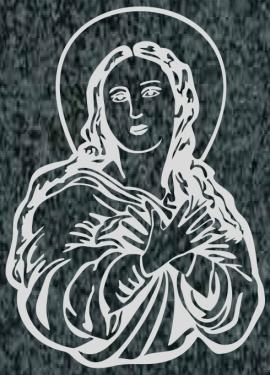 Virgen Nº 1 - REF: 463