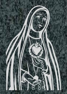 Virgen Nº 37 - VIRGEN DE FÁTIMA 2