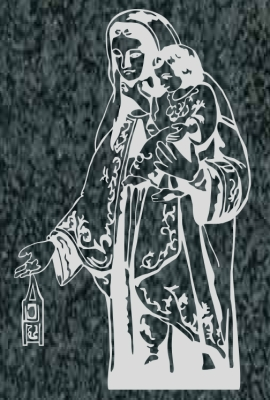 Virgen Nº 44 - VIRGEN DEL CARMEN