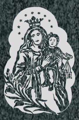 Virgen Nº 53 - REF: 332
