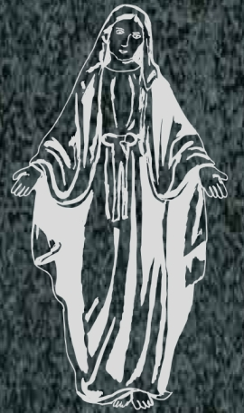 Virgen Nº 48 - VIRGEN LA MILAGROSA
