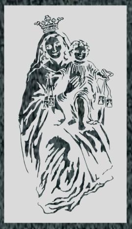 Virgen Nº 45 - VIRGEN DEL CARMEN 2