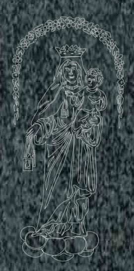 Virgen Nº 28 - REF: 416