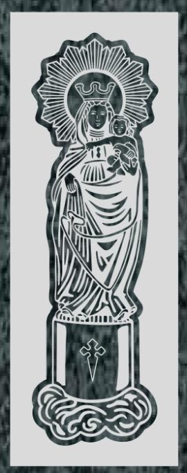 Virgen Nº 43 - VIRGEN DEL PILAR VINUE